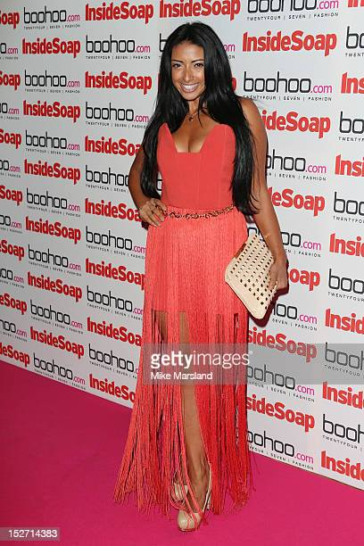 Karen Hauer attends the Inside Soap Awards at One Marylebone on September 24 2012 in London England