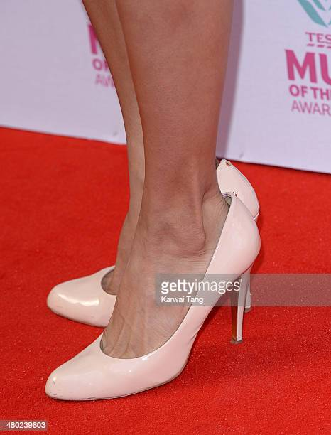 Karen Hauer attends the Tesco Mum of the Year awards at The Savoy Hotel on March 23 2014 in London England