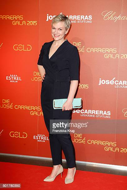 Karen Heinrichs attends the 21th Annual Jose Carreras Gala at Hotel Estrel on December 17 2015 in Berlin Germany