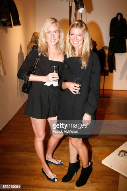 Karen Jeffords and Francesca Mills attend David Lauren hosts celebration for ALTERATION by Greg Lauren at 28 Wooster Street on October 21 2009 in New...
