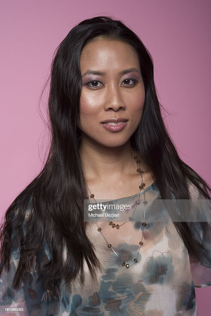 Karen Jin Beck 'DJ Shy' poses for a portrait at the Mark Kearney Group - 'Iced Out' Luxury Emmy Suite on September 20, 2013 in Los Angeles, California.