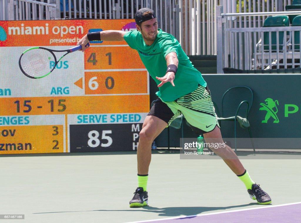 TENNIS: MAR 23 Miami Open : News Photo