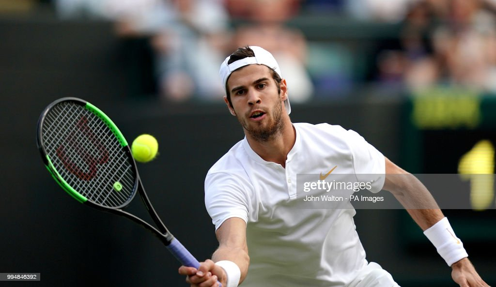 Wimbledon 2018 - Day Seven - The All England Lawn Tennis and Croquet Club : News Photo
