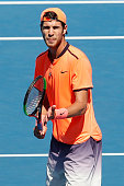 melbourne australia karen khachanov russia acknowledges