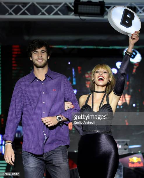 Karen Khachanov of Russia attends the Next Gen ATP Final draw ceremony during the NextGen ATP Finals Launch Party on November 5 2017 in Milan Italy