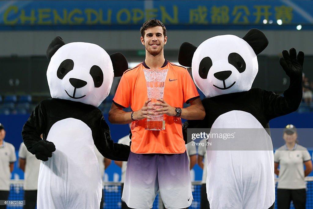 ATP Chengdu Open 2016 - Day 7 : News Photo