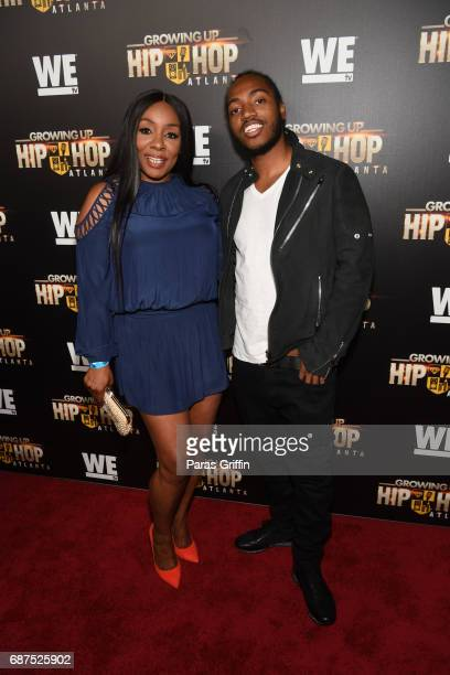 "Karen King and Sas attends ""Growing Up Hip Hop Atlanta"" Atlanta Premiere at Woodruff Arts Center on May 23, 2017 in Atlanta, Georgia."