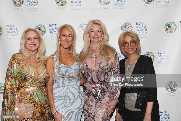 Karen King Francesca Braschi Jackie Siegal and Mercedes Ellington attend The Boys' Girls' Towns of Italy's 2016 New York Spring Ball at The Pierre...