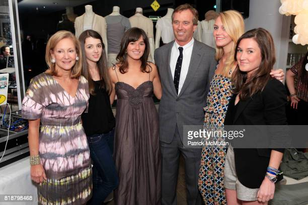 Karen Klopp Kira Kennedy Kick Kennedy Robert Kennedy Laura Glaister and Georgiana Bland attend KICK KENNEDY And WHAT TO WEAR WHERE Kick Off PROJECT...