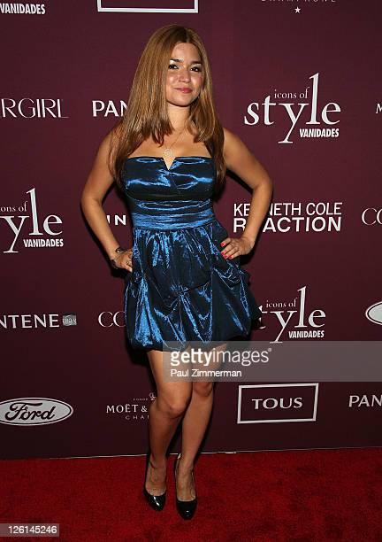 Karen Koeningsberg attends the 2011 Vanidades 'Icons Of Style Awards' Gala at the Mandarin Oriental Hotel on September 22 2011 in New York City