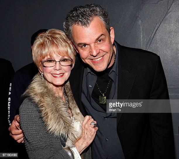Karen Kramer and Danny Huston attend Kat Kramer's films that changed the world series The Cove screening at Sunset Bronson Studios on February 28...