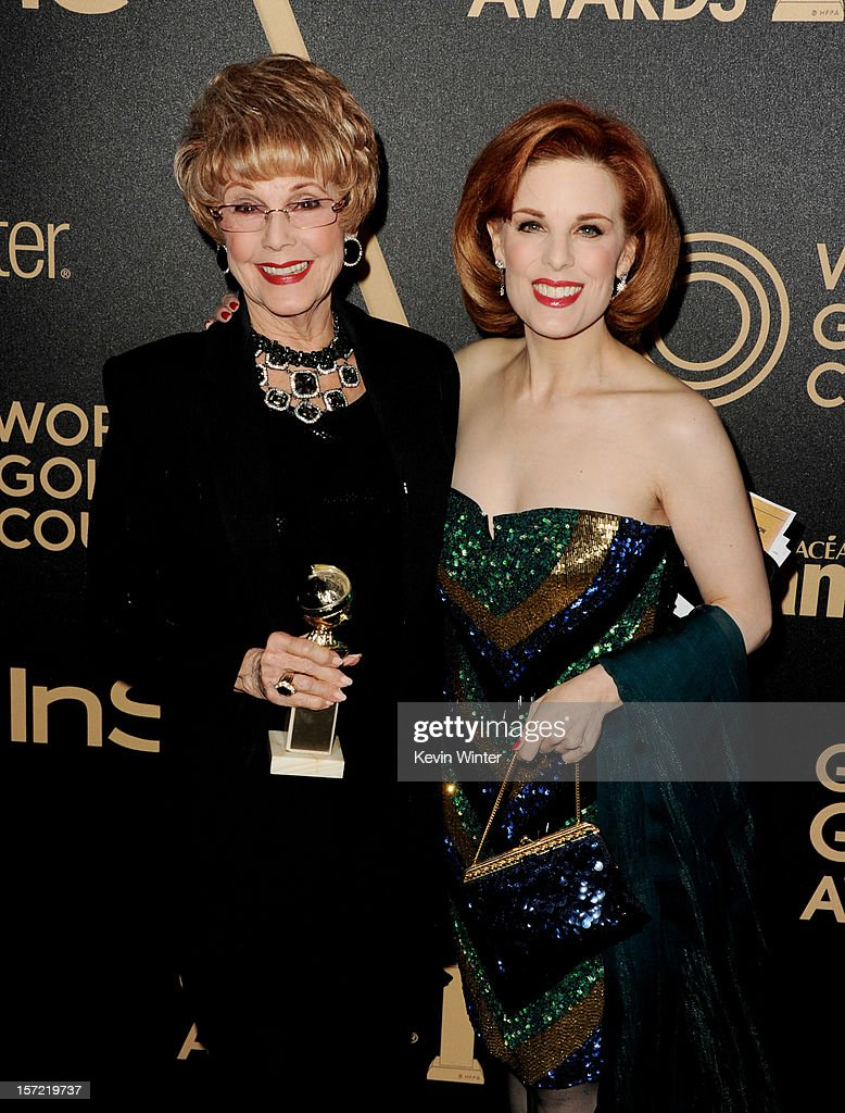 The Hollywood Foreign Press Association (HFPA) And In Style Celebrate The 2013 Golden Globe Awards Season : News Photo