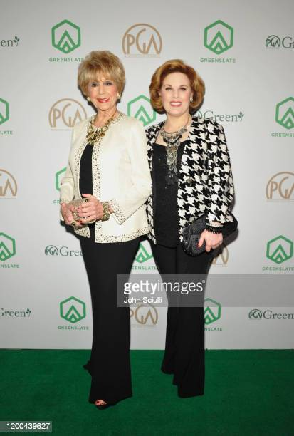 Karen Kramer and Kat Kramer attend the 31st Annual Producers Guild Awards proudly supported by GreenSlate at Hollywood Palladium on January 18 2020...