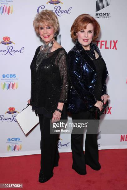 Karen Kramer and Kat Kramer attend The African American Film Critics Association's 11th Annual AAFCA Awards at Taglyan Cultural Complex on January 22...