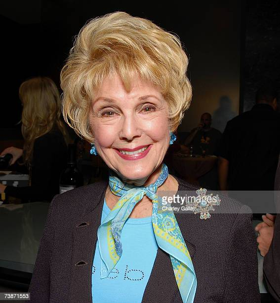 Karen Kramer attends a reception before documentary filmmaker Albert Maysles was the featured guest at the Academy of Motion Pictures Arts and...