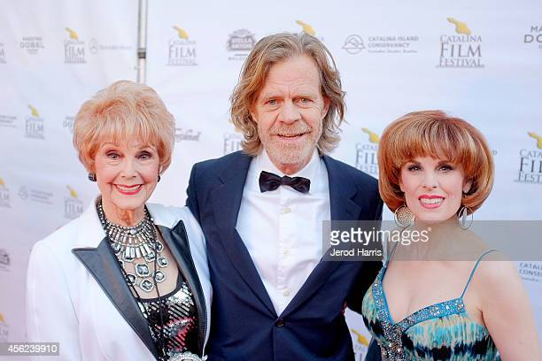 Karen Kramer William H Macy and Kat Kramer arrive at the 2014 Catalina Film Festival Premiere of 'Rudderless' on September 27 2014 in Catalina Island...