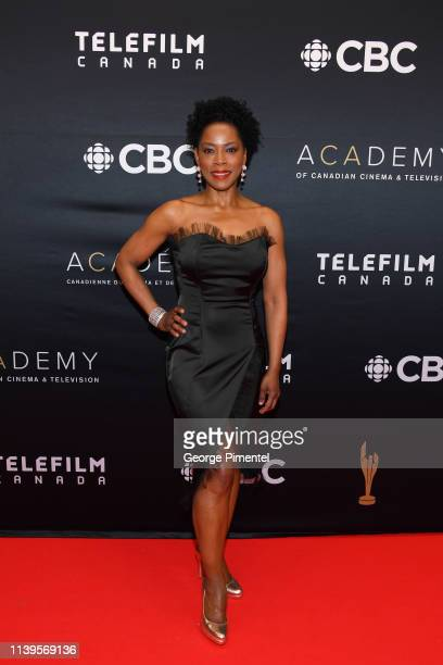 Karen LeBlanc attends the 2019 Canadian Screen Awards Broadcast Gala at Sony Centre for the Performing Arts on March 31 2019 in Toronto Canada