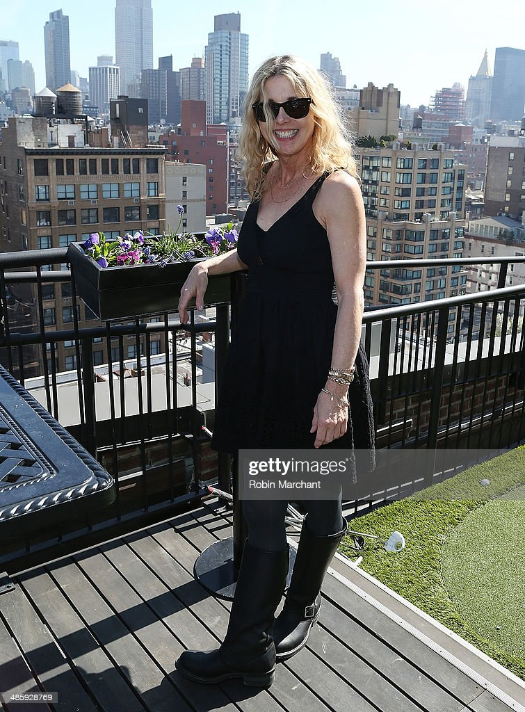 Karen Leigh Hopkins attends Women's Film Brunch at Company 3 on April 21, 2014 in New York City.