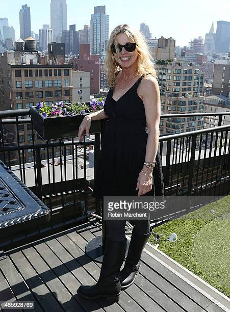 Karen Leigh Hopkins attends Women's Film Brunch at Company 3 on April 21 2014 in New York City