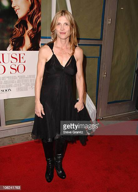 Karen Leigh Hopkins writer during Because I Said So Los Angeles Premiere Arrivals at Arclight Theater in Los Angeles California United States