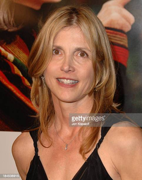 Karen Leigh Hopkins writer during Because I Said So Los Angeles Premiere Arrivals at The Arclight in Hollywood California United States