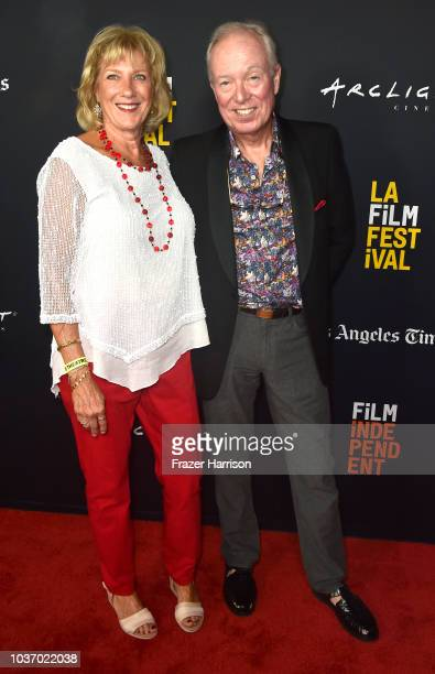 Karen Lucas Ric Murray attend 2018 LA Film Festival Opening Night Premiere Of 'Echo In The Canyon' at John Anson Ford Amphitheatre on September 20...
