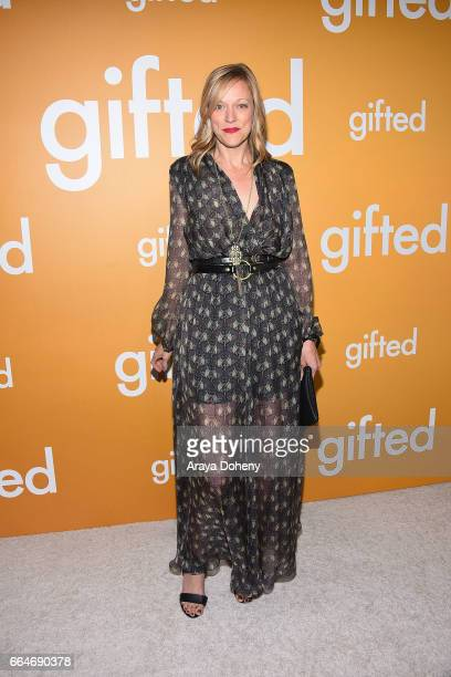 Karen Lunder attends the premiere of Fox Searchlight Pictures' 'Gifted' at Pacific Theaters at the Grove on April 4 2017 in Los Angeles California