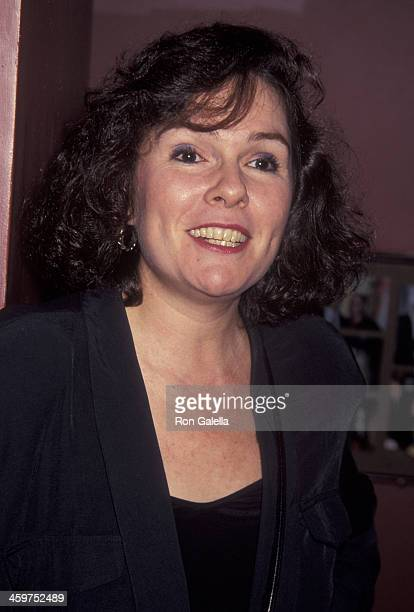 Karen Lynn Gorney attends the book party for Mark Bego Blond Ambition on July 7 1992 at Tatou in New York City