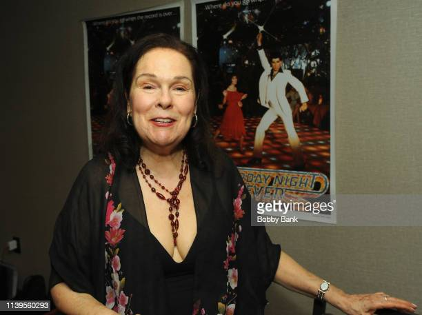 Karen Lynn Gorney attends the Chiller Theatre Expo Spring 2019 at Parsippany Hilton on April 26 2019 in Parsippany New Jersey