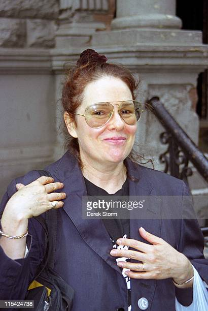 Karen Lynn Gorney during Karen Lynn Gorney Enters Second Stage Theater September 17 1997 at Second Stage Theater in New York City New York United...