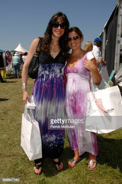 Karen Mallin and Andrea Schiaffino attend DONNA KARAN ARIEL FOXMAN and INSTYLE along with KELLY RIPA and BLAKE LIVELY present SUPER SATURDAY 12 at...