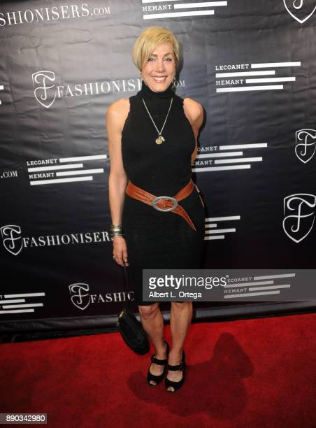 Karen Mangini arrives for Fashioniserscom Presents The Los Angeles Debut Of Lecoanet Hemant At One Night In Paris held at Sofitel Hotel on December...