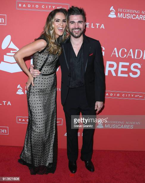 Karen Martinez Juanes arrives at the 60th Annual GRAMMY Awards MusiCares Person Of The Year Honoring Fleetwood Mac on January 26 2018 in New York City