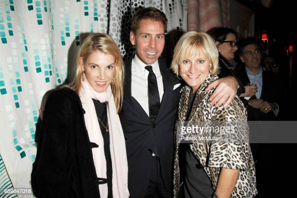 Karen Marx Matthew Talomie and Christine Phillips attend Launch Party for AMY LAU's Newest Collection for S HARRIS at The Norwood Club on November 16...