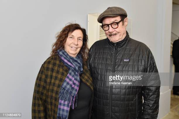 Karen McCarthy and Paul McCarthy attend Hauser Wirth Los Angeles Opening of Annie Leibovitz and Piero Manzoni and Musical Performance by Patti Smith...