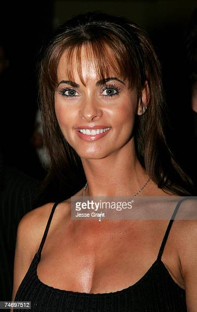 Karen McDougal at the Henry Fonda Theatre in Hollywood California