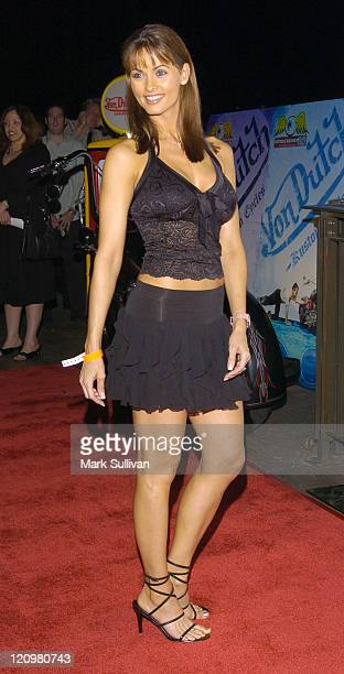 Karen McDougal during Dennis Rodman's 43rd Birthday Party at The Highlands in Hollywood, California, United States.