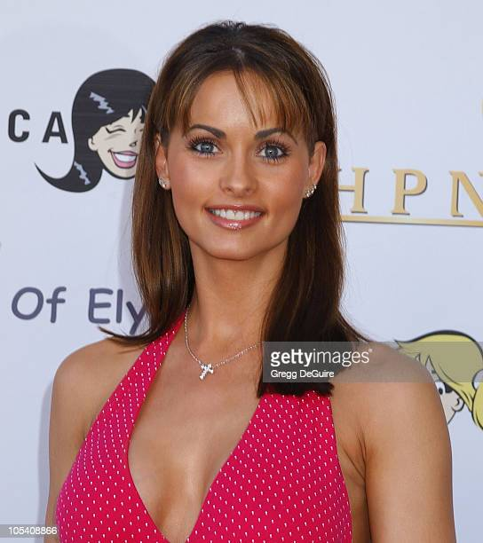 Karen McDougal during Miramax Films Archie Comics and Kitson Launch New Apparel Line Featuring 'Betty Veronica' at Kitson Retail Store in Beverly...