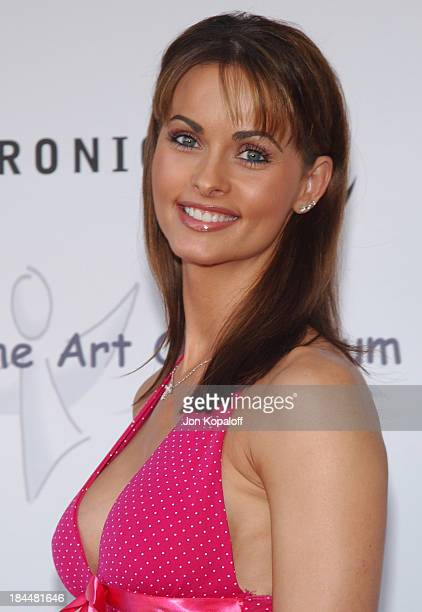 """Karen McDougal during Miramax Films, Archie Comics and Kitson Launch New Apparel Line Featuring """"Betty & Veronica"""" at Kitson Retail Store in Beverly..."""