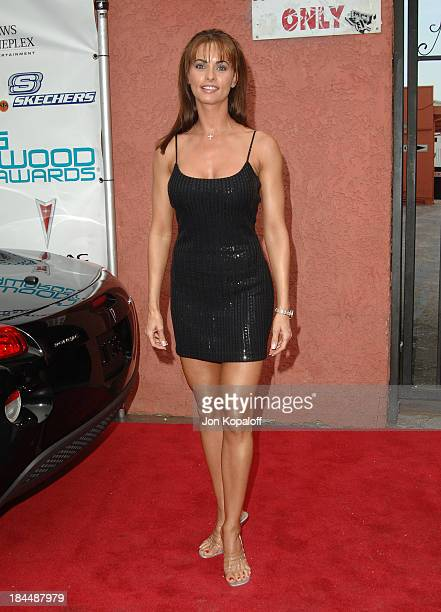 Karen McDougal during Movieline's Hollywood Life 7th Annual Young Hollywood Awards Arrivals at Music Box at The Fonda in Hollywood California United...