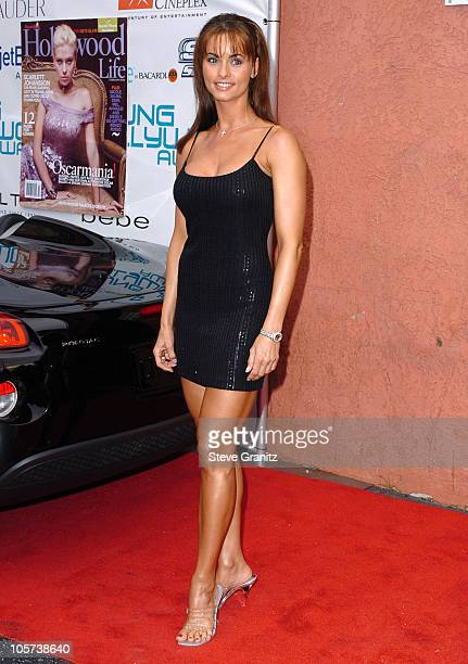 Karen McDougall during Movieline's Hollywood Life 7th Annual Young Hollywood Awards - Arrivals at Music Box at The Fonda in Hollywood, California,...