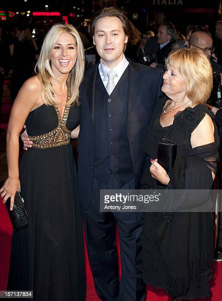 Karen Mckay And Christian Mckay Attend The Uk Film Premiere Of 'Me Orson Welles' At Vue West End In London