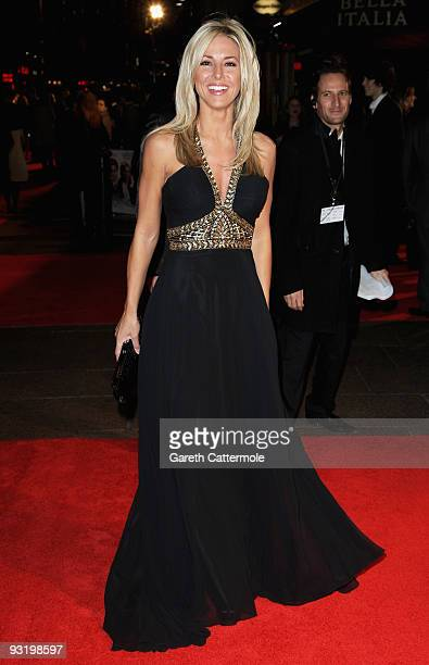 Karen McKay arrives at the UK film premiere of Me Orson Welles at the Vue West End on November 18 2009 in London England