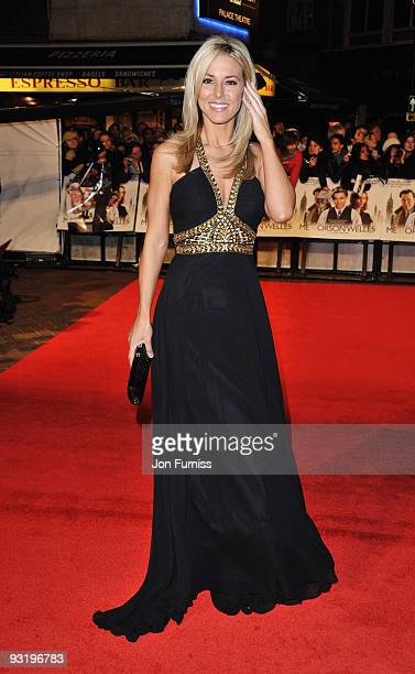 Karen McKay attends the 'Me Orson Welles' UK Premiere at the Vue West End on November 18 2009 in London England