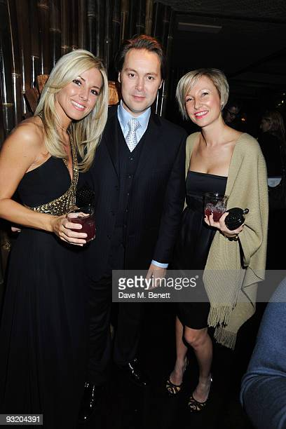 Karen McKay Christian McKay and Susie Cooper attend the afterparty for the UK film premiere of Me Orson Welles at Kanaloa on November 18 2009 in...