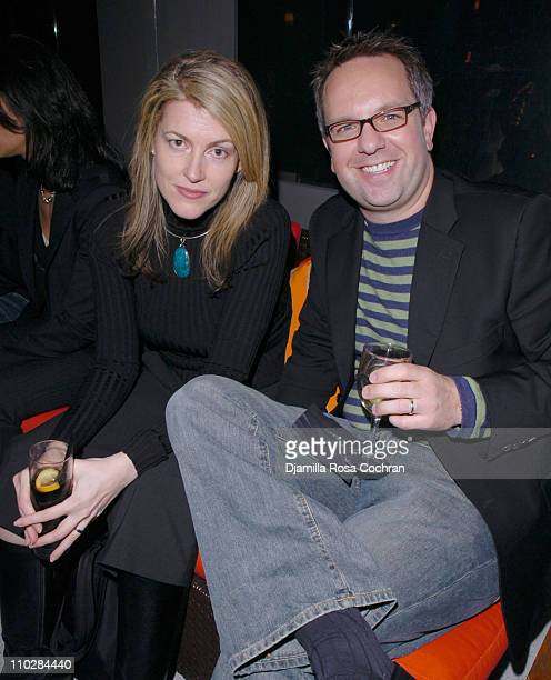Karen McKelvie and Craig Brommers during W Magazine Celebrates the Launch of the 2006 Speedo Ad Campaign at Gansevoort Hotel in New York, New York.