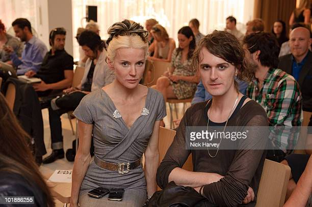 Karen Millen and Elizabeth Emmanuel attend Fashion Fringe at Covent Garden 2010 panel discussion with Colin McDowell new chairperson John Galliano...