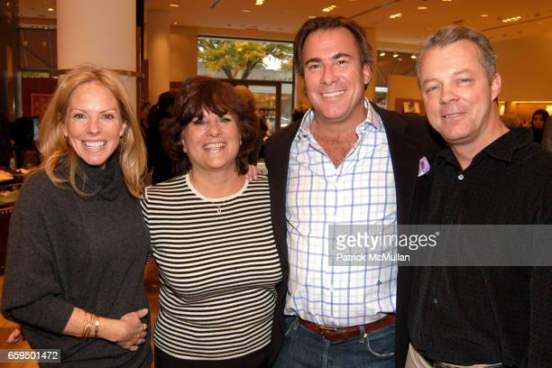 Karen Misisco Ann Ward Thomas Misisco and Billy Ward attend FARAONE MENNELLA at Richards of Greenwich for DebRA Bracelet Unveiling at Richards on...