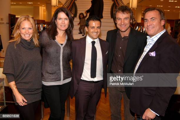 Karen Misisco Sonya Wilander Amedeo Scognamiglio Mats Wilander and Thomas Misisco attend FARAONE MENNELLA at Richards of Greenwich for DebRA Bracelet...