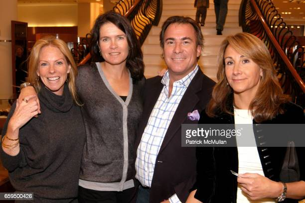 Karen Misisco Sonya Wilander Thomas Misisco and Cindy Catterson attend FARAONE MENNELLA at Richards of Greenwich for DebRA Bracelet Unveiling at...